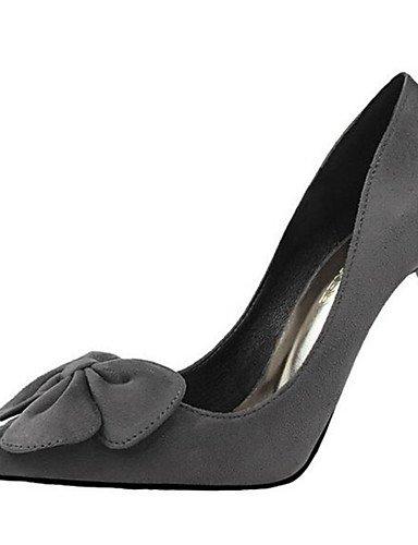 WSS 2016 Chaussures Femme-Mariage / Soirée & Evénement-Noir / Rose / Rouge / Gris-Talon Aiguille-Talons-Talons-Synthétique black-us7.5 / eu38 / uk5.5 / cn38