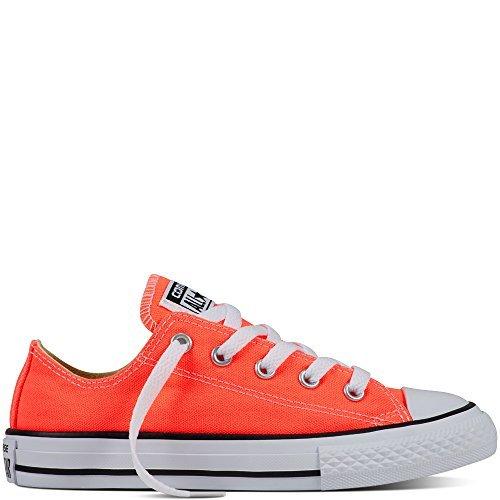 Converse Chuck Taylor All Star Wash Neon Ox, Baskets mode mixte enfant Hyper Orange