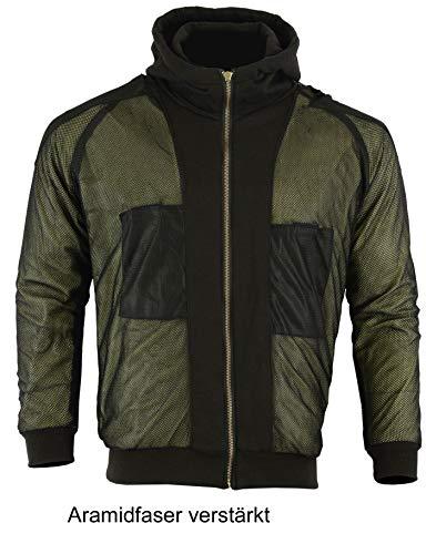 Heyberry Hoody Motorradjacke Hoodie Roller Jacke Schwarz Gr. XL - 3