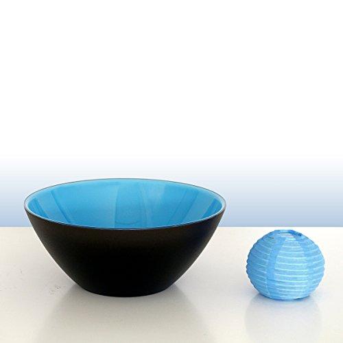 Guzzini Coque My Fusion Turquoise/Noir, d'environ 20 cm | FG-2814.20-170 | 8008392283379