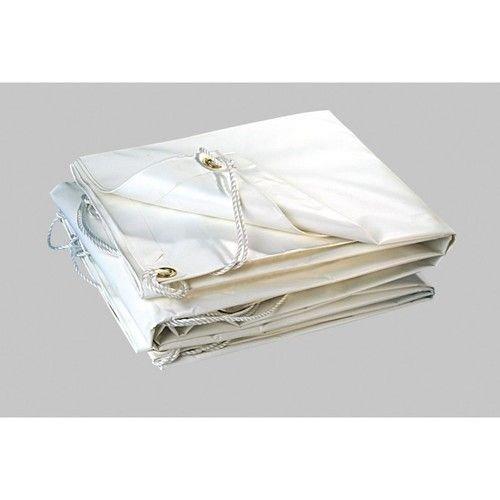 Bâche de protection de jardin 2x3 m PVC blanc 300gr/m² REF 2978