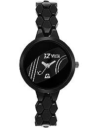 Youth Club New Doom Black Glass Watch For Women-DOOM-231BLKBLK