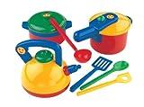Klein - 9188 - Accesorios de Cocina - Set 3 ollas de cocina con utensilios