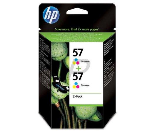 Preisvergleich Produktbild HP C9503AE Pack 2x Druckerpatrone 3Farben HP 57cyan/gelb/magenta