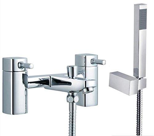 Carré de bain design Robinet mitigeur + douche Nice (4)