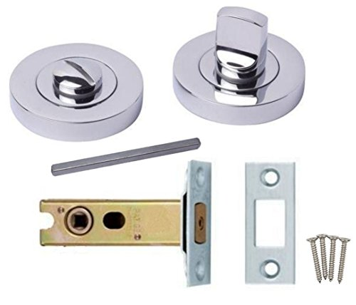 Bathroom door locksets