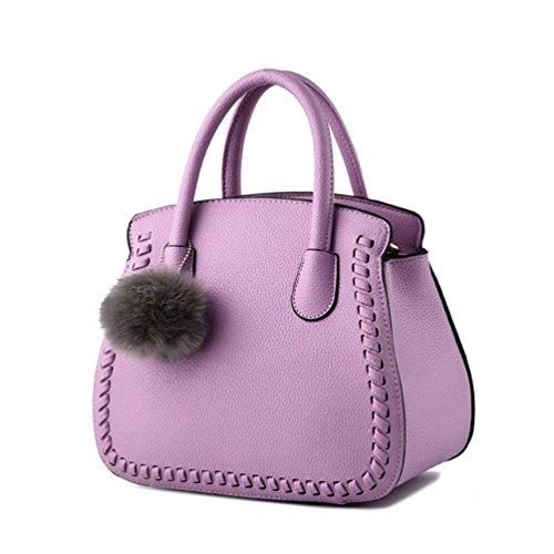 XibeiTrade - Borsa Ragazza donna Purple