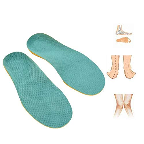 Orthopedic Insoles,1 pair Flat Foot Orthopedic Arch Support PU Foam Shoe Inserts for Kids Children Baby Shoes