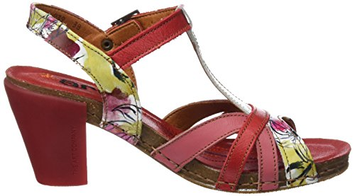 Art 0239 Fantasy i Feel, Sandali T-Strap Donna Multicolore (Flowers)