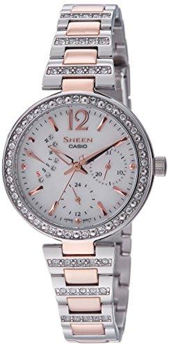 41w7Bl87bpL - Casio Sheen Silver Women SHE 3043SG 7AUDR watch