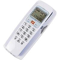 teléfono Fijo_con Cuerda, teléfono de rellamada con un Toque, antichoque, Montaje en Pared
