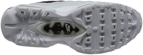 check out d4dbe b32cb ... Nike Air Max 95 Ultra Essential, Chaussures De Course Homme Schwarz ( noir   Blanc ...