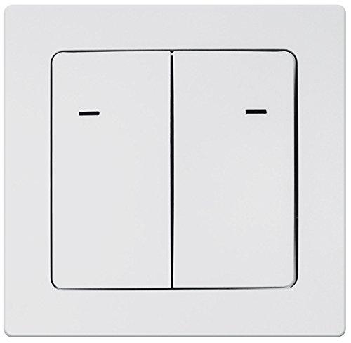 Preisvergleich Produktbild CASAcontrol Funk-Lichtschalter doppelt