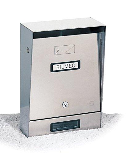 Cassetta lettere inox 10-002 silmec [silmec ]