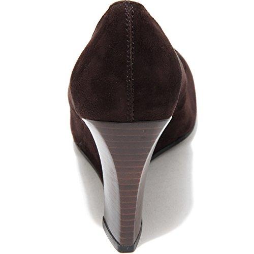76700 TOD'S ZEPPA Marrone 75 SG VINTAGE scarpa donna shoes women testa di moro