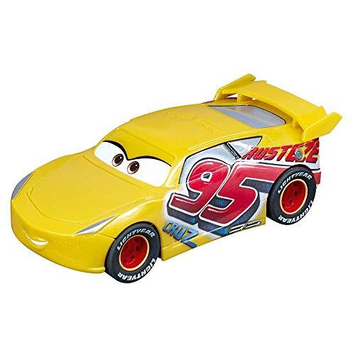 Carrera GO!!!- Disney·Pixar Cars Cruz Ramirez Coche, Color Rojo, Amarillo (20064105)