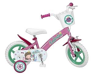 TOIMSA - Bicicleta de 12 Pulgadas, Modelo Little Princess 3-5 años, 12002