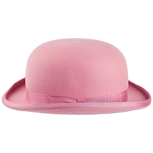 Chapeau Melon rose DENTON Rose