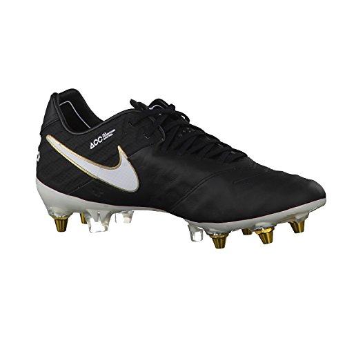 Nike Tiempo Legend VI Sg-Pro, Scarpe da Calcio Uomo Multicolore (Negro / Blanco / Dorado (Black / White-Black-Mtlc Vvd Gld-))