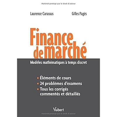 Finance de marché - Modèles mathématiques à temps discret