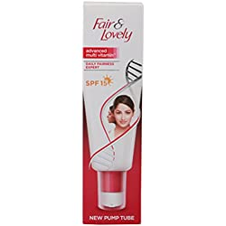 Fair and Lovely Advanced Multi Vitamin Daily Fairness Expert SPF 15 New Pump Tube, 80g