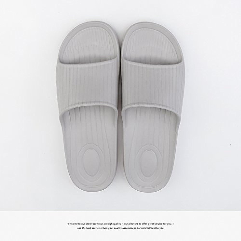 Fankou El cuarto de baño zapatillas de verano suave interior masculina y femenina, suelo antideslizante home home...
