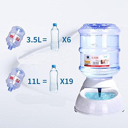 3.5L und 11 L Große Kapazität Hunde und Katzen Trinkbrunnen pet-Schalen. 11L automatischer Trinkeimer (Stehen Wasserspender)