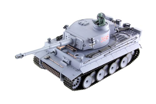 XciteRC 35505000 Ferngesteuerter RC Panzer Modellpanzer Tiger I - Ready to Race Sound and Smoke 1:16