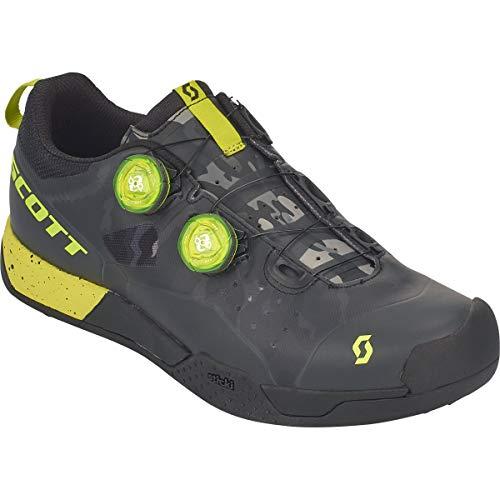 Scott MTB AR Boa Clip Fahrrad Schuhe schwarz/gelb 2018: Größe: 42 - Und-clips Bike-schuhe