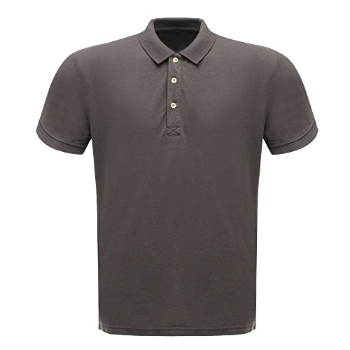 Regatta CLS 65/35 große Classic Polo Shirt – Seal Grey