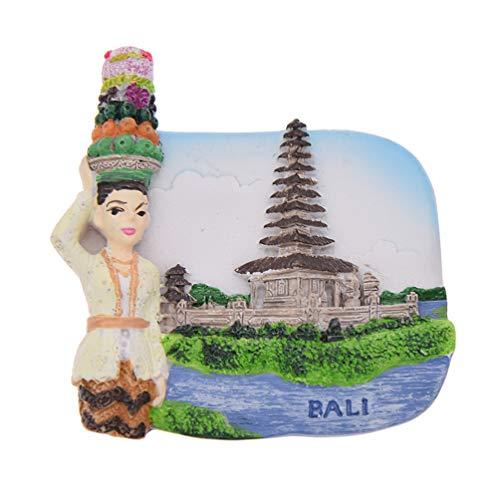 Hongma Kühlschrankmagnet Thailand Bali Gold Pinnwand Whiteboard Dekor Vintage (Bali Dekor)
