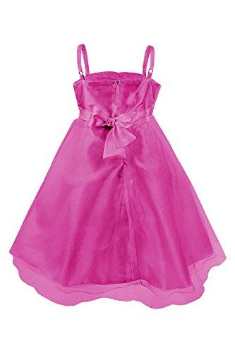 Imagen de princesas disney  vestido de verano de fiestas y gala con falda de tul, con cinturón de parlas y lazo para niña, color rosa, 2 3 años  katara 1716  alternativa