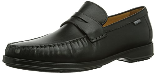 Mephisto Mens Howard Desert 9200 Leather Shoes Noir