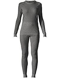 Maier Sports - Set de ropa de esquí para mujer Lena, color anthrazit melange (634), tamaño large