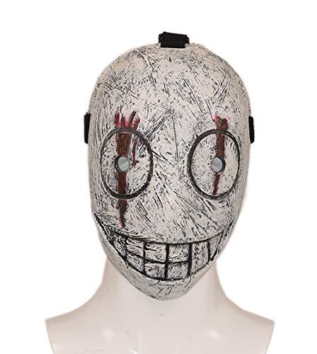 k Maske DPD Cosplay Kostüm Spiel Erwachsene Volles Gesicht Latex Helm Replik Halloween Fancy Dress Verkleiden Merchandise Zubehör ()