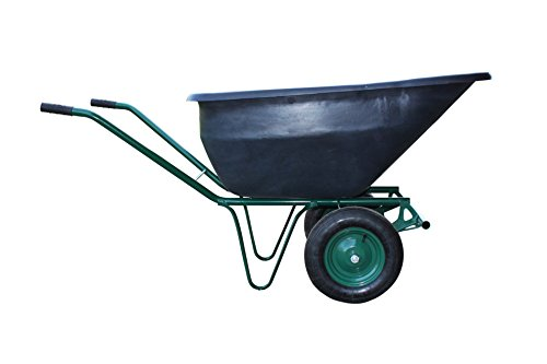 Schubkarre 180 Liter Bauschubkarre Gartenschubkarre Transportwagen