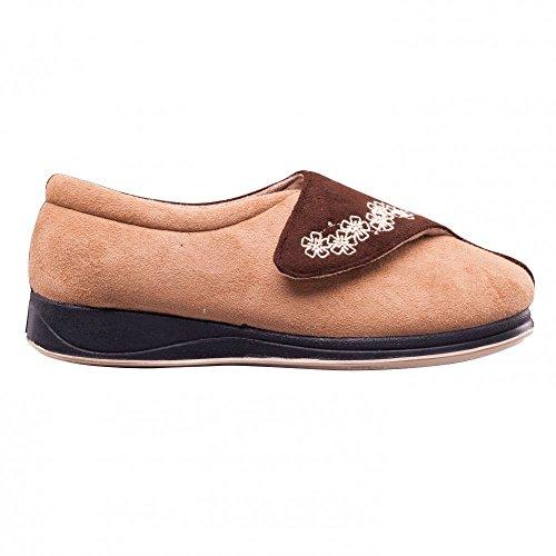 Padders, Pantofole donna Beige Camel-Brown Beige (Camel-Brown)