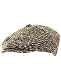 fa9a634ac45d0 Men s woolmix Herringbone Newsboy Gatsby stlyle 8-Panel Flat Caps - Huge  Variety