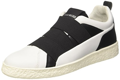 BIKKEMBERGS Damen Best 956 Low-top, Weiß (White 800), 39 EU