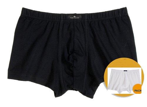 Tom Tailor Boxershort Button - 4er Pack schwarz (9000)