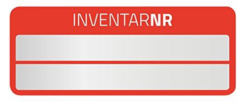 Avery Zweckform 6911oggetti di etichette (50Etichette, resistente, 50X 20mm) 10arco, rosso