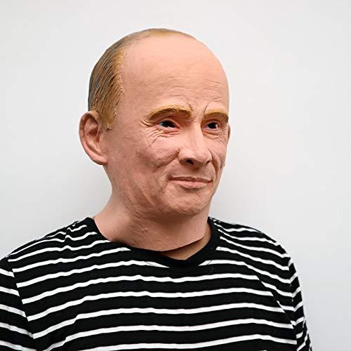VAWAA Halloween-Party Cosplay Berühmten Mann David Beckham Gesicht Maske Realistische Latex Party Gesicht Maske Putin Russischen Präsidenten Maske