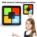 lā Vestmon Macchina da Gioco Educativa per Bambini, Allenamento della Memoria Flash Console di Gioco con Una Sola Mano Gioco di Puzzle Interattivo Innovativo Gioco per Bambini