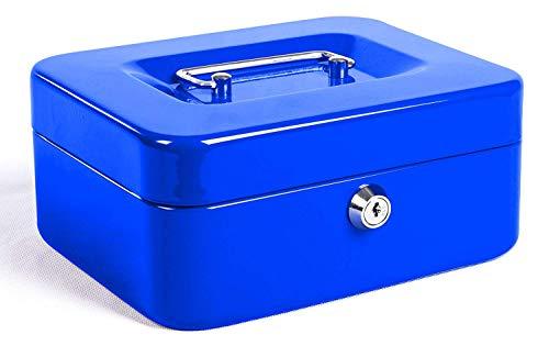 Caja de Efectivo con Bloqueo de Teclas, Caja de Dinero de Metal...