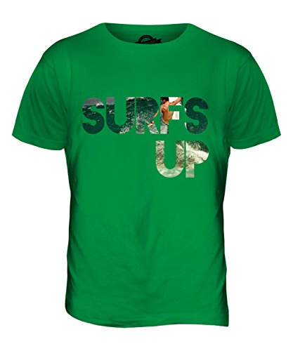 CandyMix Surfs Up Herren T Shirt Grün
