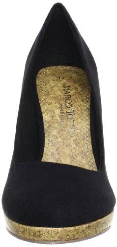 Marco Tozzi 2-2-22415-20, Scarpe col tacco donna Nero (Schwarz (BLACK 001))