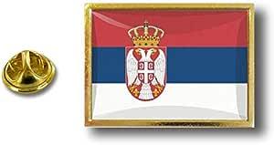 Spilla Pin pin's Spille spilletta Giacca Bandiera Distintivo Badge Serbia