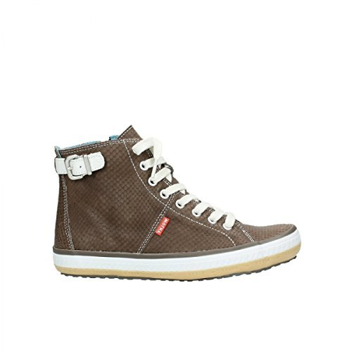 Wolky Stiefelette Biker 1225 Taupe 41