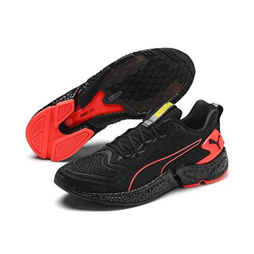 PUMA Speed Orbiter, Zapatillas de Running para Hombre, Black-Nrgy Red-Yellow Alert, 44.5 EU
