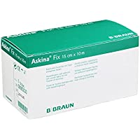 Askina Fix Fixiervlies 15 cmx10 M Hypoallergen, 1 St preisvergleich bei billige-tabletten.eu